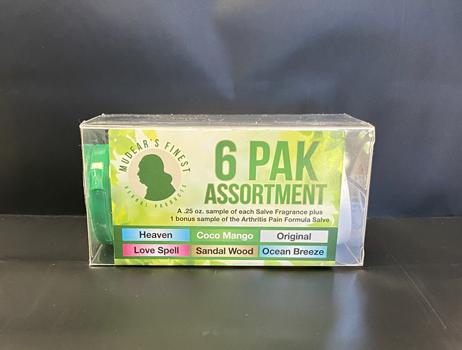 Herbal Salve – 6 Pak Assortment