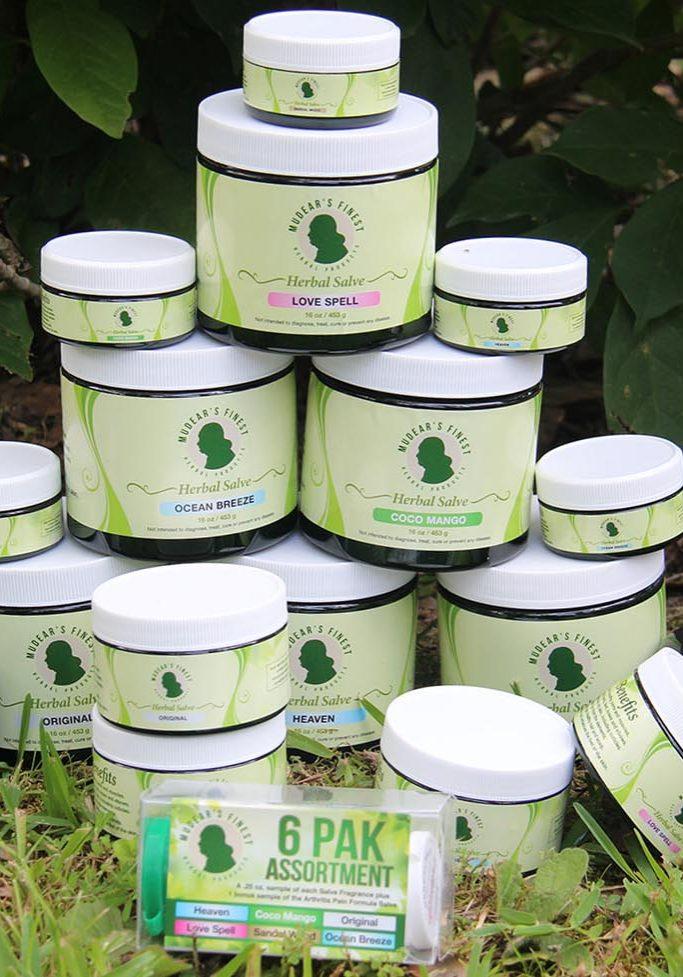 Mudear's Herbal Soaps & Salve